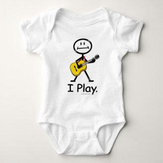 Acoustic Guitar Baby Bodysuit
