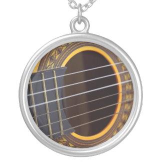 Acoustic Guitar Background Pendant