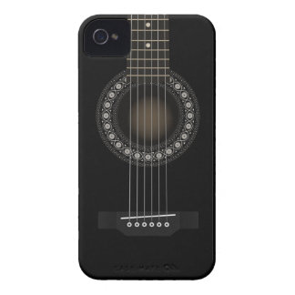 Acoustic Guitar Barely There iPhone 4/4S Case