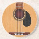 Acoustic Guitar Beverage Coaster
