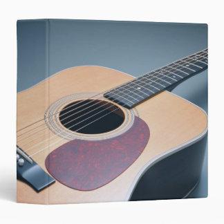 Acoustic Guitar Vinyl Binder