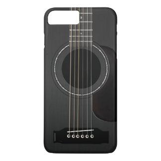 Acoustic Guitar Black iPhone 7 Plus Case