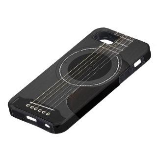 Acoustic Guitar Black iPhone SE/5/5s Case