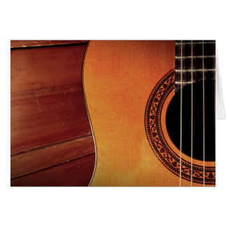 Acoustic Guitar Cards