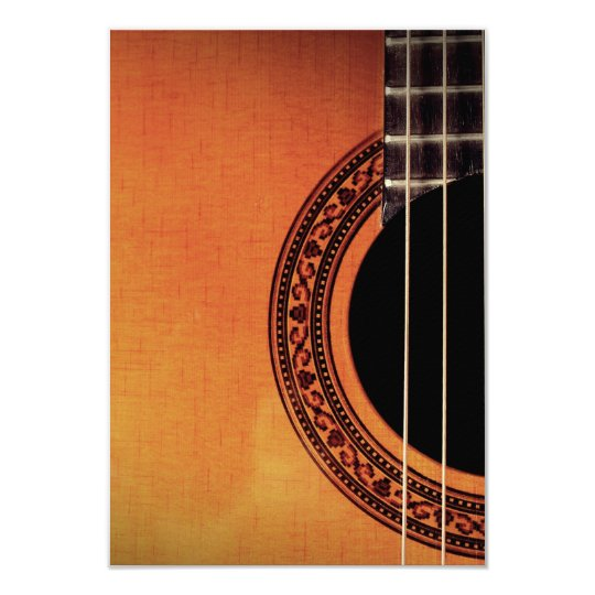 Acoustic Guitar Card