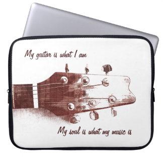 Acoustic guitar case laptop sleeves