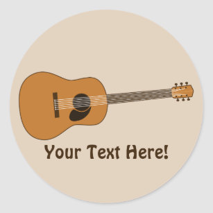 guitar stickers zazzle. Black Bedroom Furniture Sets. Home Design Ideas