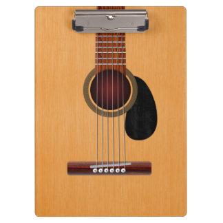 Acoustic Guitar Clipboard