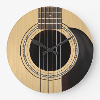 Acoustic Guitar Clock
