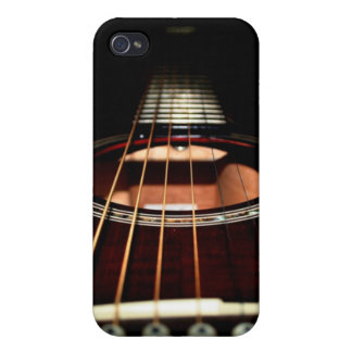 Acoustic Guitar Close-Up iPhone4 Case