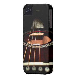 Acoustic Guitar Close-Up iPhone4 Case-Mate Barely iPhone 4 Cover
