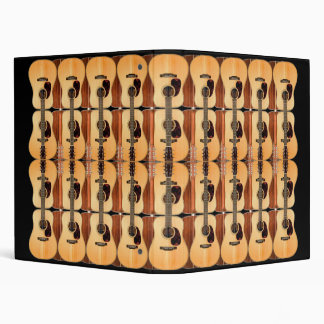 Acoustic Guitar Collage Binder