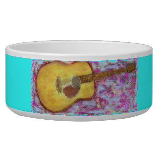 Acoustic Guitar Colours Bowl