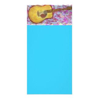 Acoustic Guitar Colours Card
