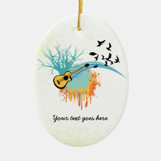 Acoustic guitar custom ornaments