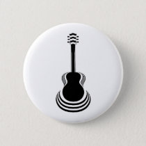 Acoustic Guitar Cutout Button