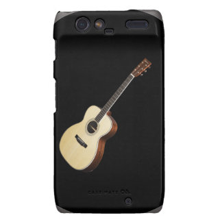"""""""Acoustic Guitar"""" design gifts and products Droid RAZR Cases"""