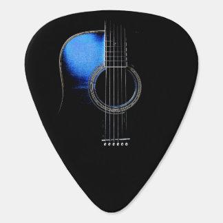 Acoustic Guitar Design Plectrum Version 2 Guitar Pick