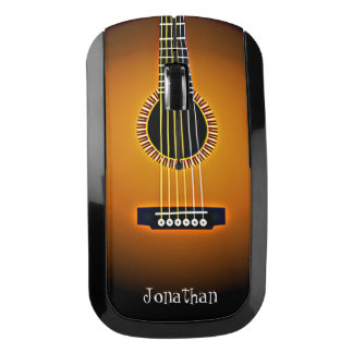 Acoustic Guitar Design Wireless Mouse