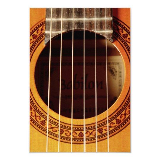 Acoustic Guitar Detail Card