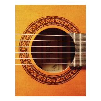 Acoustic Guitar Detail Flyer