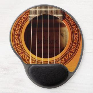 Acoustic Guitar Detail Gel Mouse Pad