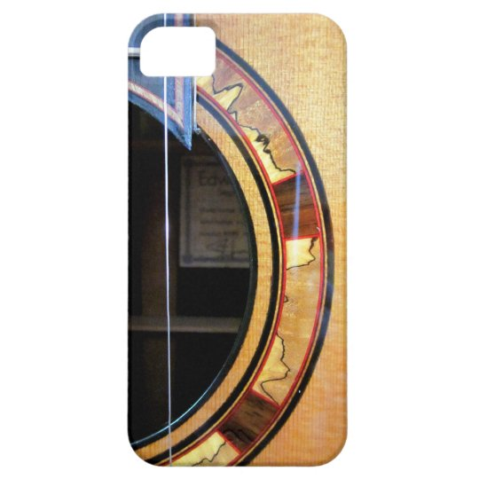Acoustic Guitar Detail iPhone Case