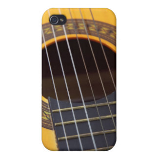 Acoustic Guitar Detail iPhone 4/4S Covers