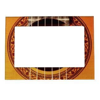 Acoustic Guitar Detail Magnetic Frame