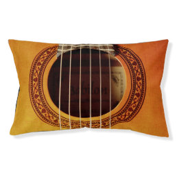 Acoustic Guitar Detail Pet Bed