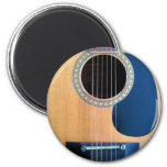 Acoustic Guitar Dreadnought 6 string 2 Inch Round Magnet