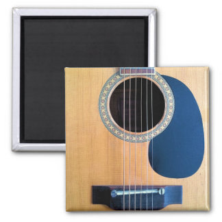 Acoustic Guitar Dreadnought 6 string 2 Inch Square Magnet