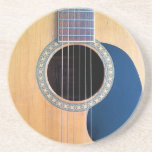 Acoustic Guitar Dreadnought 6 string Beverage Coaster