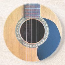 Acoustic Guitar Dreadnought 6 string Coaster