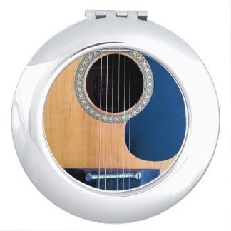 Acoustic Guitar Dreadnought 6 string Compact Mirror