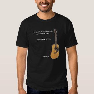Acoustic_Guitar,    EL sonido del instrumentoda… Polera