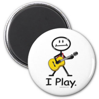 Acoustic Guitar Fridge Magnet