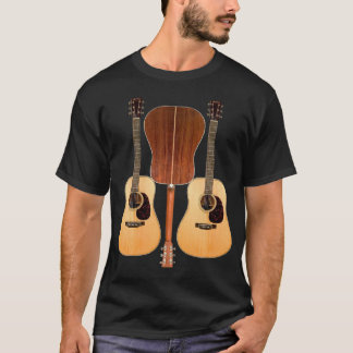 Acoustic Guitar Front and Back Shirt