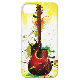 Acoustic Guitar Grunge iPhone 5 Case