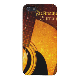 Acoustic Guitar Grunge Speck® iPhone 4 Case
