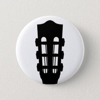 Acoustic Guitar Head Button Badge