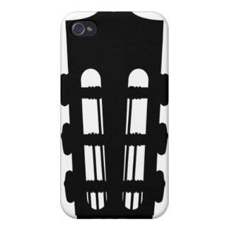 Acoustic Guitar Head iphone 4 Case