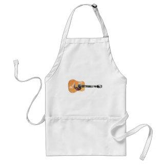 Acoustic Guitar horizontal (distressed) Adult Apron