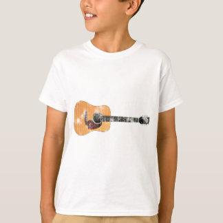 Acoustic Guitar horizontal (distressed) T-Shirt