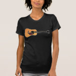 Acoustic Guitar horizontal T Shirt