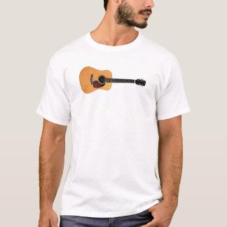 Acoustic Guitar horizontal T-Shirt