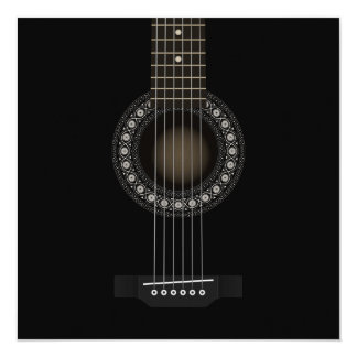 Acoustic Guitar Invitation