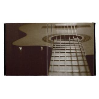 Acoustic Guitar iPad Folio Case