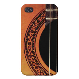 Acoustic Guitar Cover For iPhone 4