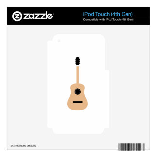 Acoustic guitar iPod touch 4G skin